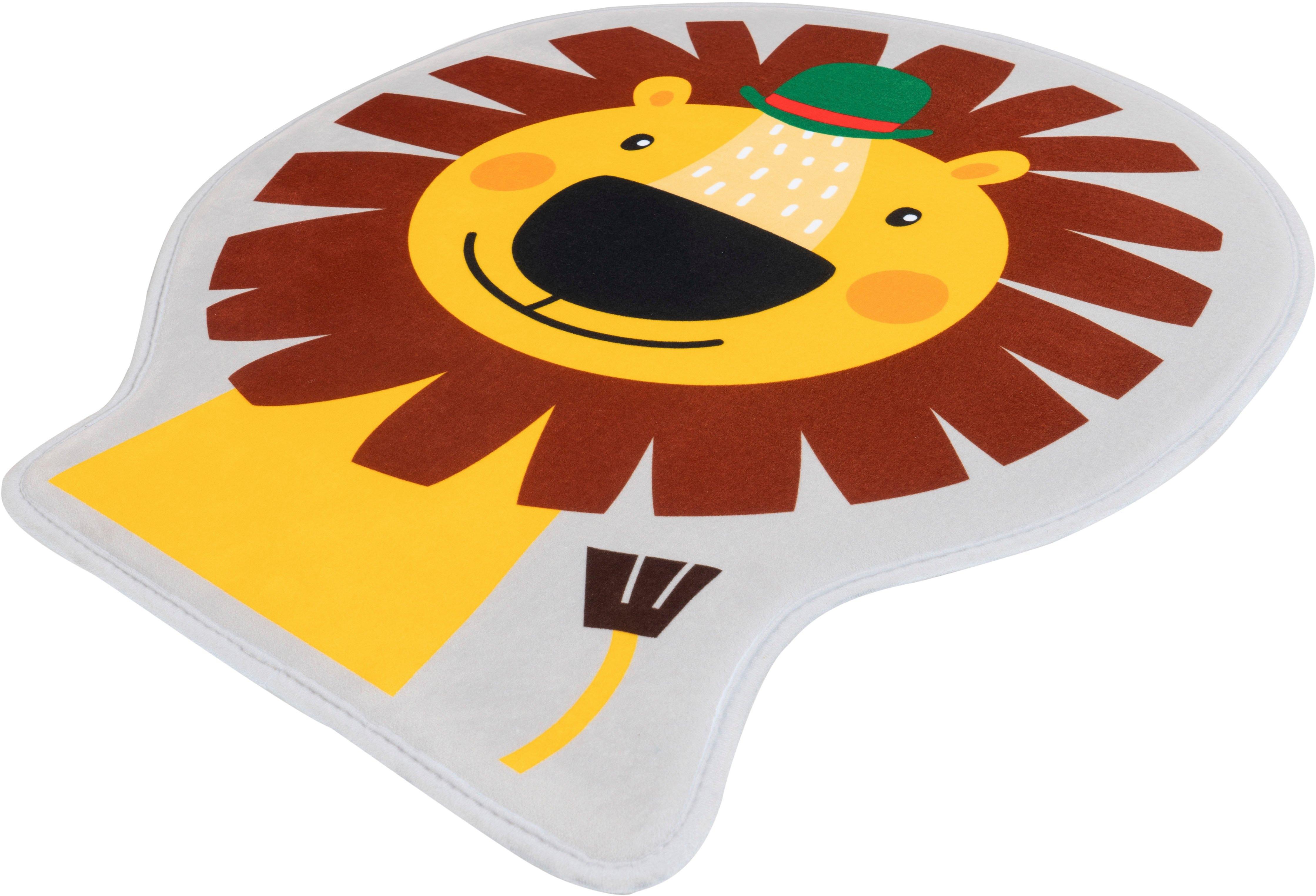 Obsession vloerkleed voor de kinderkamer My Mila Kids 148 Motief leeuw, wasbaar, kinderkamer bestellen: 30 dagen bedenktijd