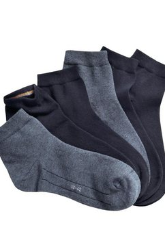 camano korte sokken (7 paar) blauw