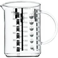 wmf maatbeker gourmet kleine hoeveelheden nauwkeurig afleesbaar. vermelding van de schaalverdeling in liters, milliliter, kopjes en gram (1) wit