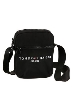 tommy hilfiger schoudertas »established mini reporter« zwart