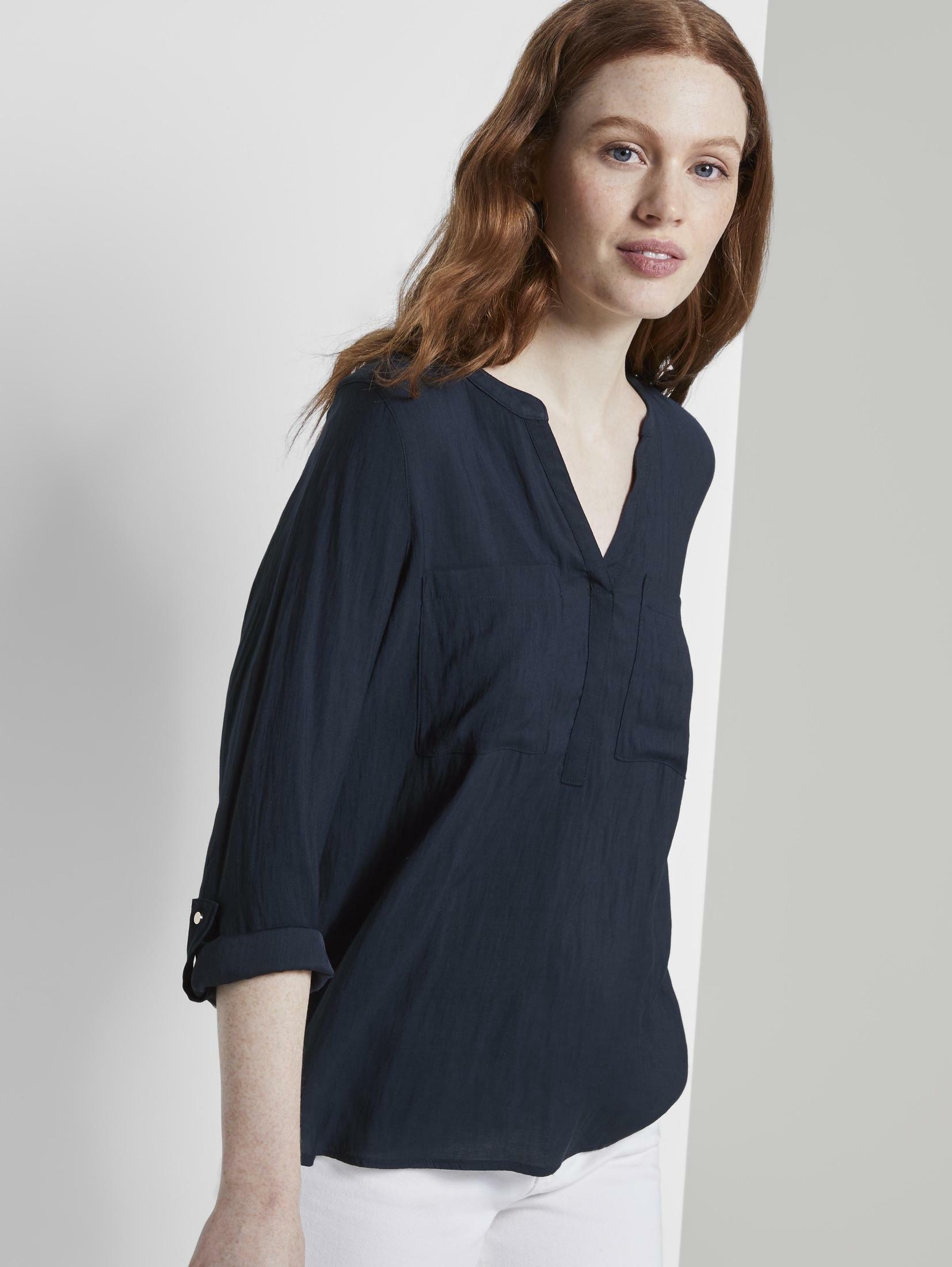 Op zoek naar een Tom Tailor Denim top »Tunikabluse mit Brusttaschen«? Koop online bij OTTO