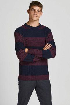 jack  jones trui met ronde hals paars