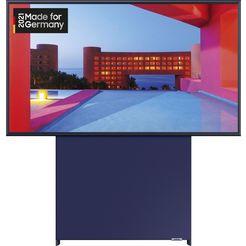 """samsung qled-tv gq43ls05tau """"the sero"""", 108 cm - 43 """", 4k ultra hd, smart-tv, 360° draaibaar beeldscherm blauw"""