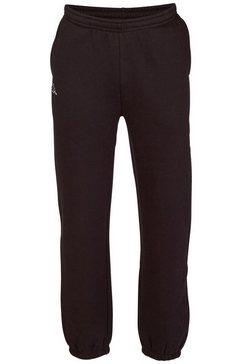 kappa joggingbroek romegius in prettig zachte kwaliteit zwart