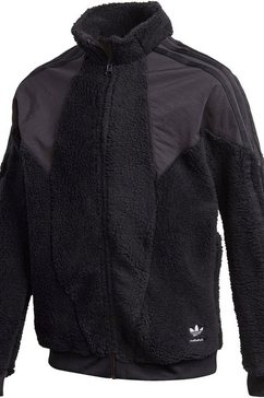 adidas originals fleecejack »polar fleec track top« schwarz