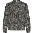 only gedessineerde blouse »new mallory« blauw