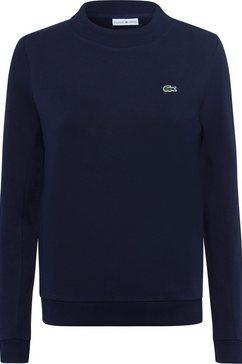 lacoste sweatshirt blauw