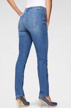 mac slim fit jeans blauw