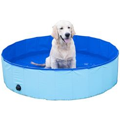 abuki hondenzwembad øxh: 120x30 cm blauw