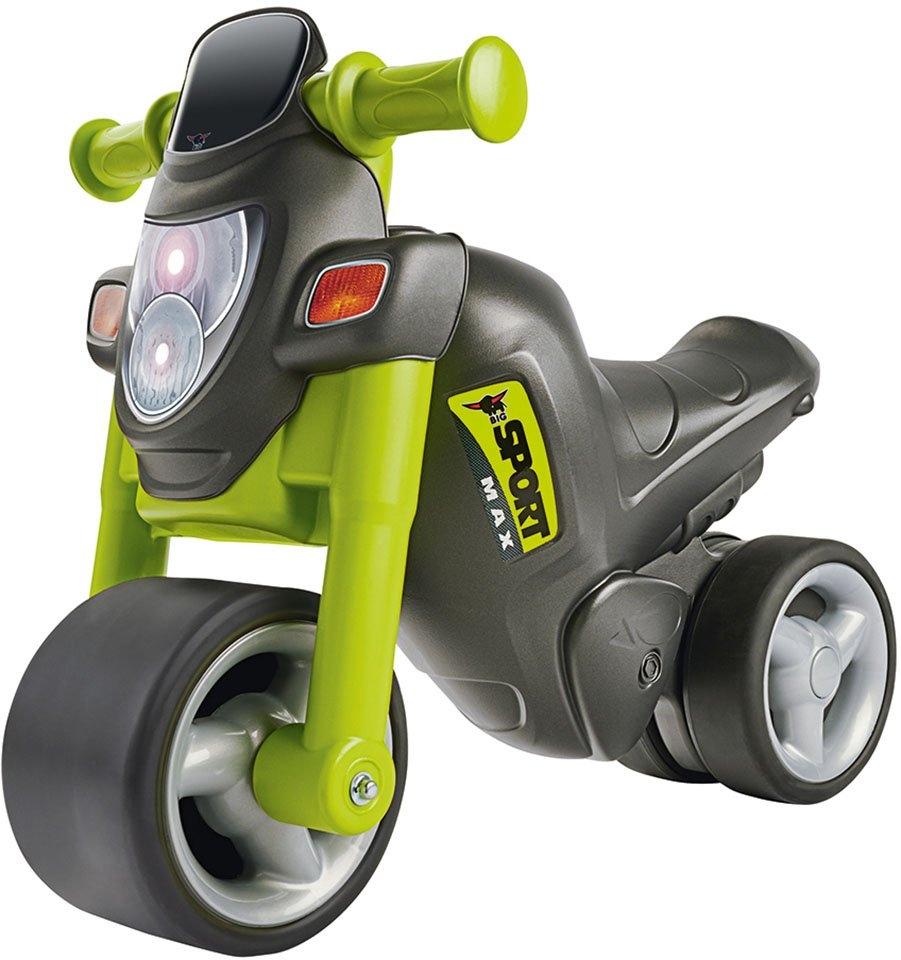 BIG Loopmotor BIG-sport-bike, groen Made in Germany bij OTTO online kopen