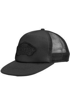 vans baseballcap classic patch trucker zwart