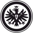 wall-art wandfolie voetbal eintracht frankfurt logo (1 stuk) zwart