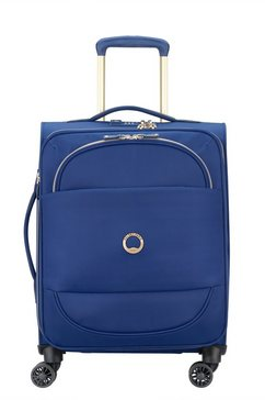 delsey zachte trolley montrouge, 55 cm, blue blauw