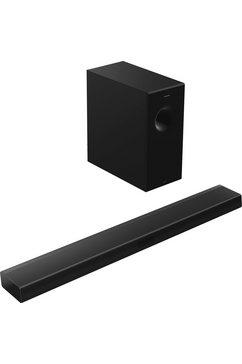 panasonic 2.1-geluidssysteem sc-htb600 soundbar zwart