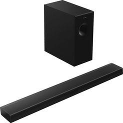 panasonic 2.1-soundsystem »sc-htb600 soundbar« 2.1 (bluetooth, 360 watt) zwart