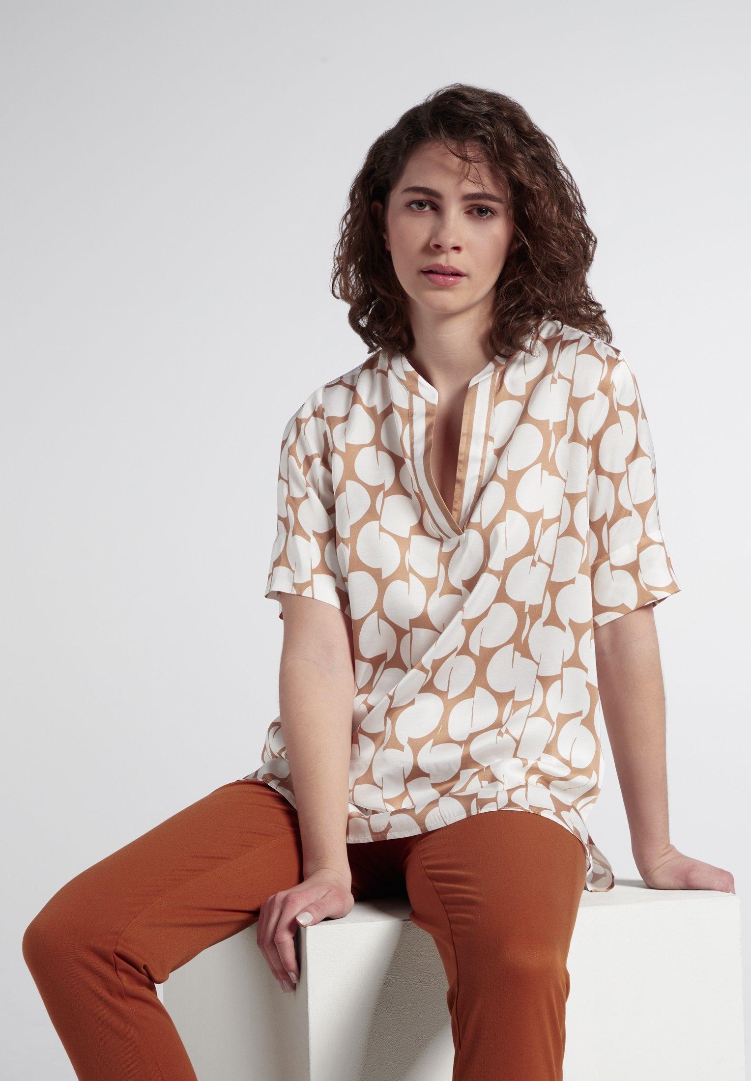 Eterna blouse met korte mouwen 1863 by ETERNA - PREMIUM nu online bestellen
