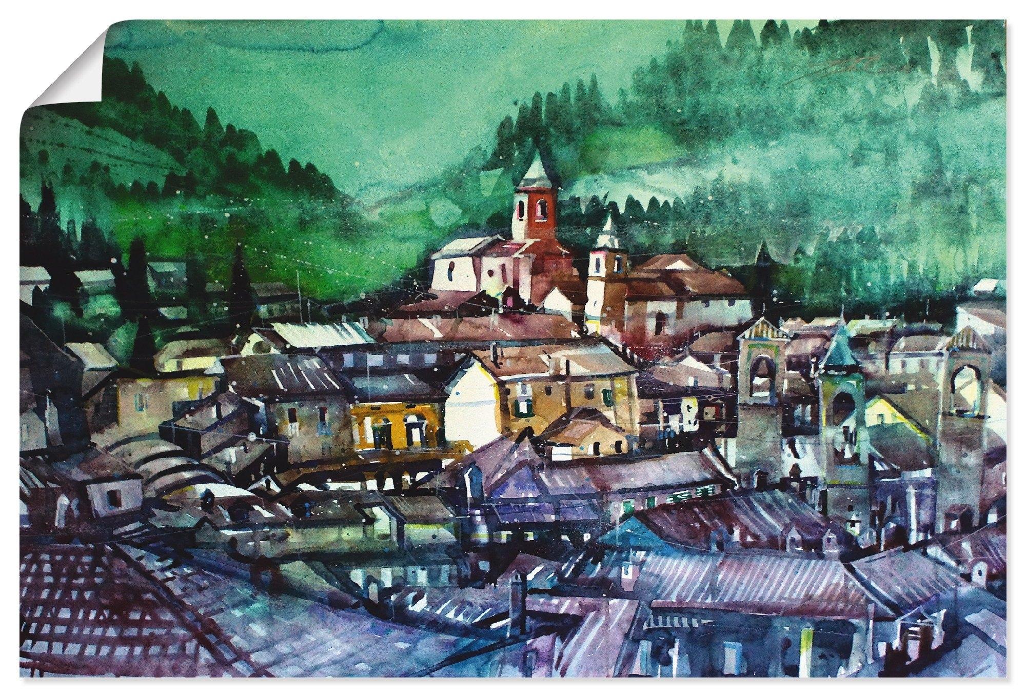 Artland artprint Emilia Romagna, blik op La Tribuna in vele afmetingen & productsoorten - artprint van aluminium / artprint voor buiten, artprint op linnen, poster, muursticker / wandfolie ook geschikt voor de badkamer (1 stuk) goedkoop op otto.nl kopen