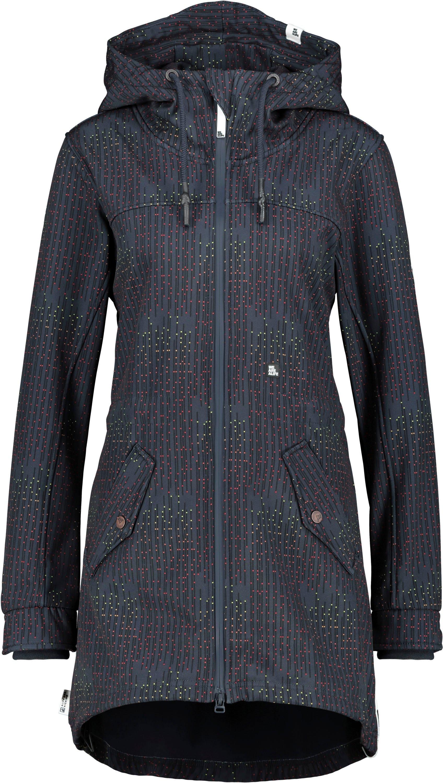 alife and kickin softshell-jack AudreyAK sportieve overgang-jas met all-over print goedkoop op otto.nl kopen