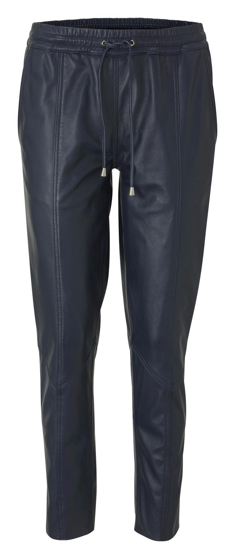 RICK CARDONA by Heine leren broek met elastische tailleband nu online bestellen