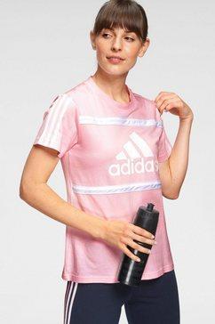 adidas performance t-shirt »w cb t« roze