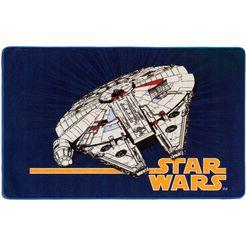 star wars vloerkleed voor de kinderkamer »sw-74« blauw