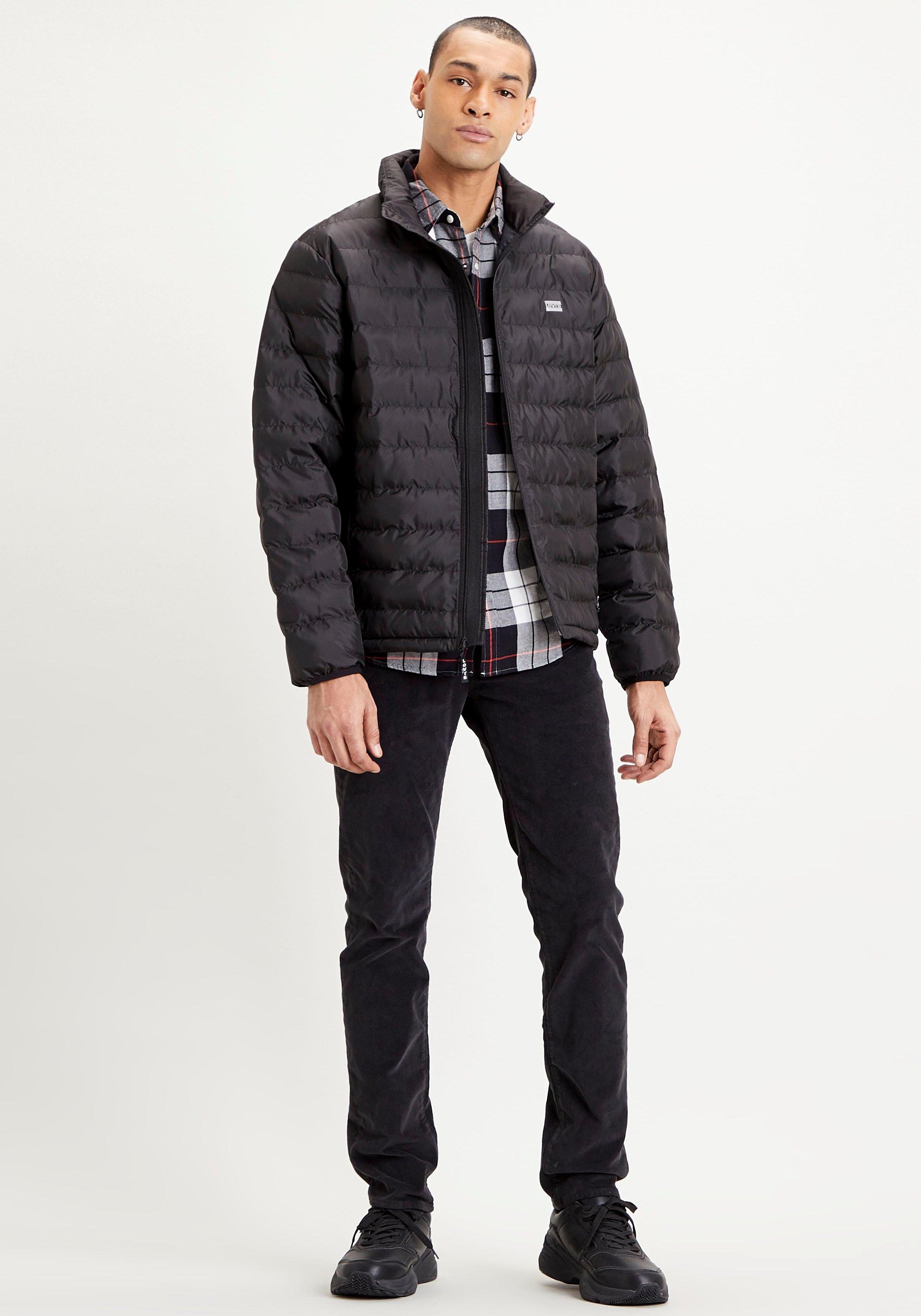 Levi's gewatteerde jas met logoprint op borsthoogte in de webshop van OTTO kopen