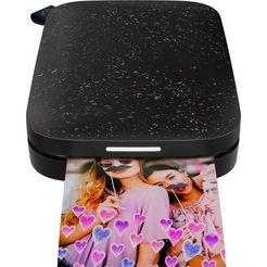 hp »sprocket 200 zink« fotoprinter zwart