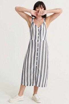 superdry zomerjurk eden van linnen wit