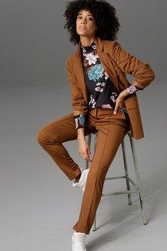 aniston casual lange blazer bruin