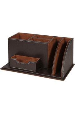 ambiente haus organizer londen bureau-organizer 24 cm (1 stuk) bruin