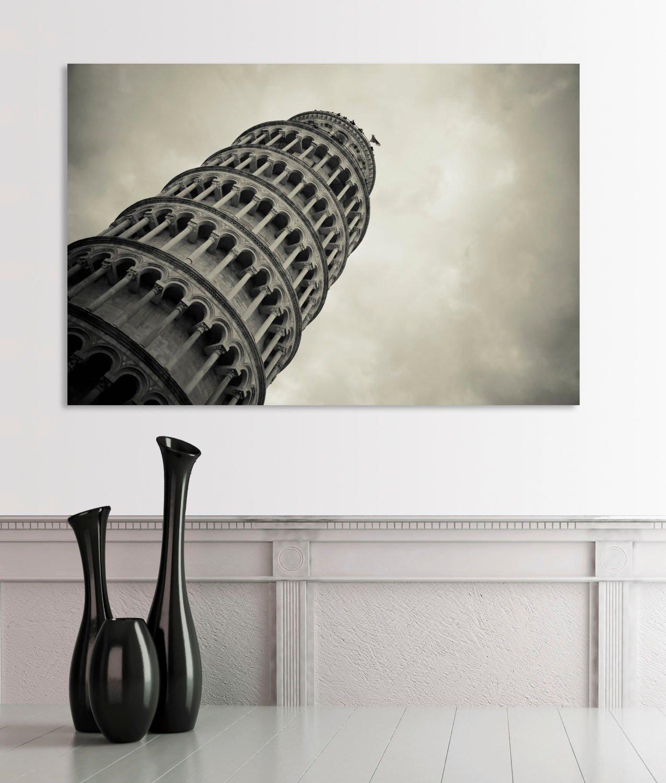 queence Artprint op acrylglas De scheve toren van goedkoop op otto.nl kopen