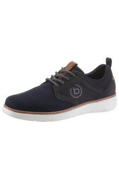 bugatti sneakers »dex« blauw