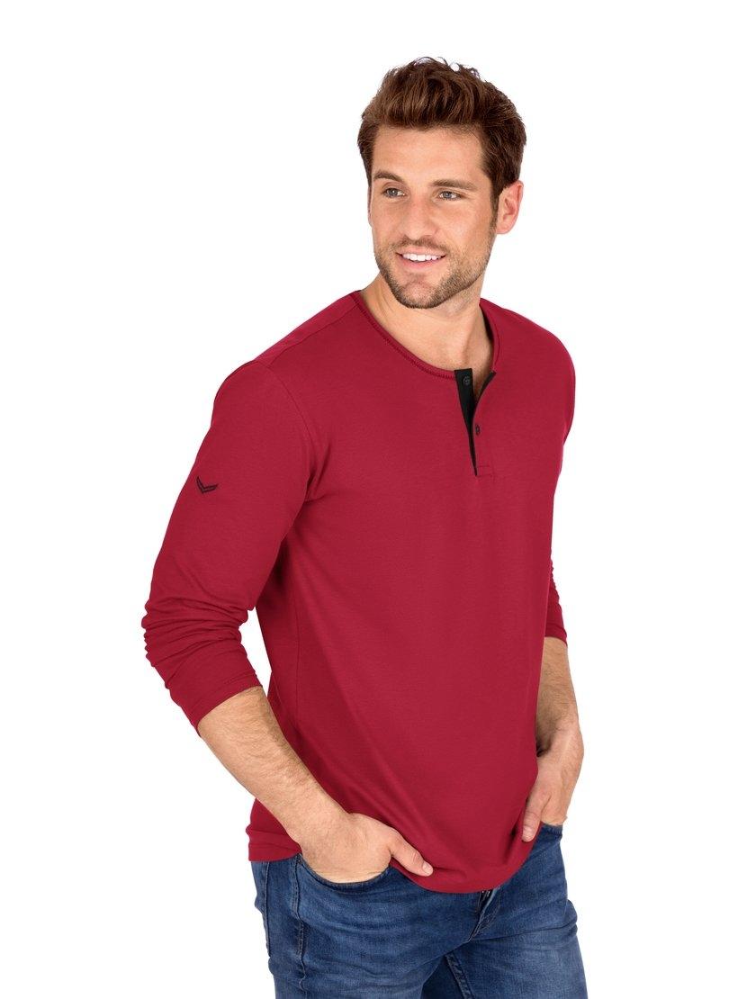 Trigema shirt met lange mouwen van biokatoen nu online kopen bij OTTO