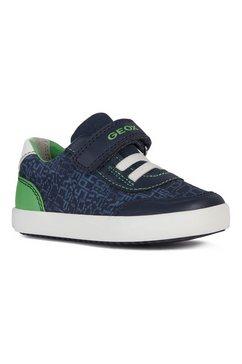 geox kids sneakers gisli boy met een uitneembare binnenzool blauw