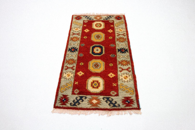 morgenland wollen kleed Kazak Teppich handgeknüpft rot nu online kopen bij OTTO
