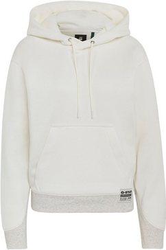 g-star raw hoodie »premium core hooded sweatshirt« wit