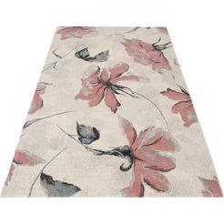 my home vloerkleed sofia bloemdesign, woonkamer roze