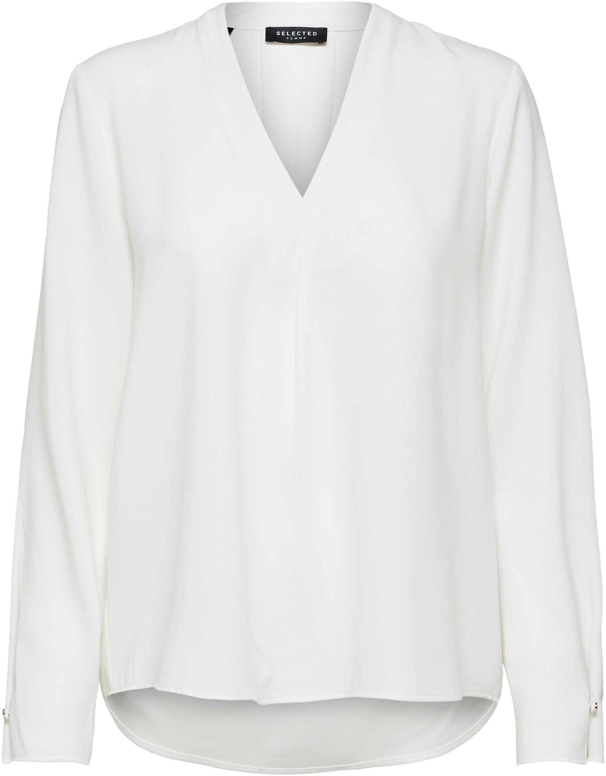 SELECTED FEMME blouse zonder sluiting SLFLUNA met v-hals voordelig en veilig online kopen