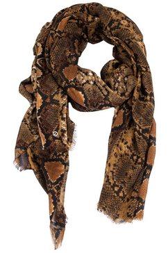 tamaris modieuze sjaal bruin