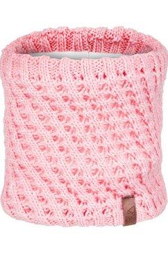 roxy fleece-sjaal »blizzard« roze