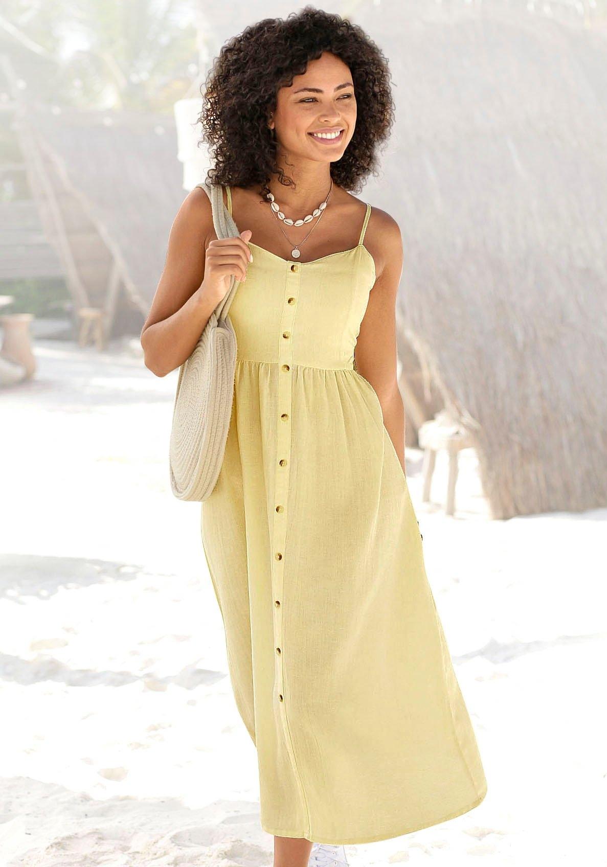 Op zoek naar een Lascana zomerjurk linnenmix? Koop online bij OTTO