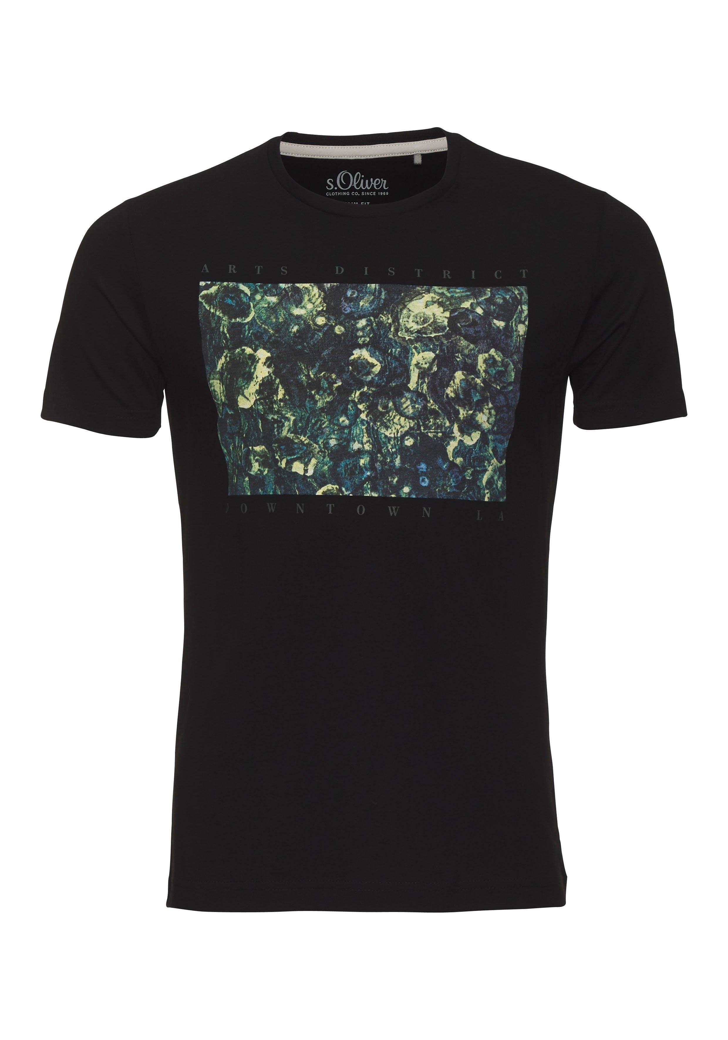 s.Oliver T-shirt met frontprint goedkoop op otto.nl kopen