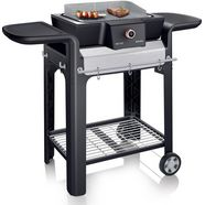 severin »sevo gs pg 8105« staande barbecue zwart