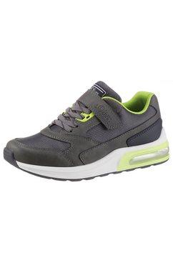 s.oliver slip-on sneakers met textielen inzet grijs