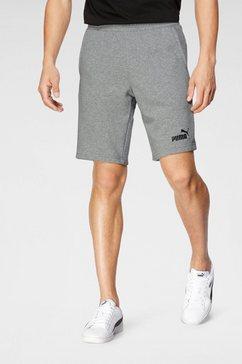 "puma sweatshort »ess shorts 10""« grijs"