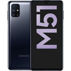 samsung »galaxy m51« smartphone zwart