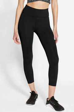 nike functionele tights »nike one women's cropped 7-8-tights« zwart