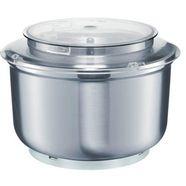 bosch keukenmachineschaal muz6er2 fuer bosch kuechenmaschinen mum6n zilver