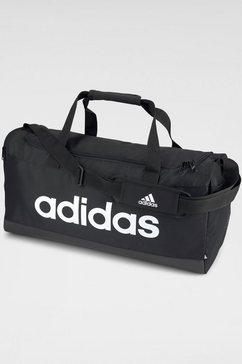 adidas performance sporttas essentials logo duffelbag medium zwart