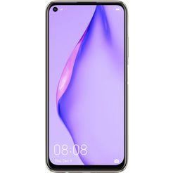 huawei smartphone p40 lite, 128 gb, 24 maanden fabrieksgarantie roze